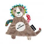 Doudou Baby Jélékros le lion Les Déglingos