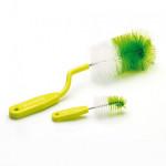 Goupillon à biberon rotatif vert Thermobaby