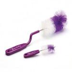 Goupillon à biberon rotatif violet Thermobaby