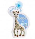 Bébé à bord Flash Sophie la girafe Vulli