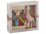 Coffret naissance Sophie la girafe + Hochet cœur