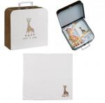 Valisette cadeau Sophie la girafe «VULLI»