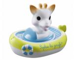 Le bateau arroseur de Sophie la girafe