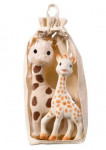 Set girafe peluche + sophie la girafe Vulli